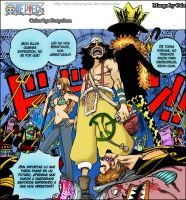 One piece 2Y Colored Manga by FanychanCosplay