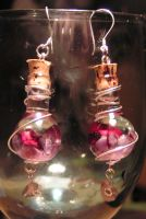 Magic Vial Earrings - Spirit by Izile
