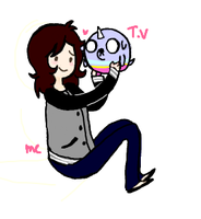 T.V and Me :D by SoftyMe