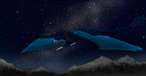Night Sky by TalonWolf-Jedi-OnDA