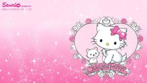 Charmmy Kitty Wallpaper Set by CailynDizon