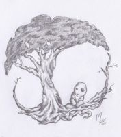 .tree of life and kodama by anarchlien