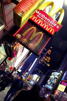 The McDonalds of Times Square by ClaireCastle