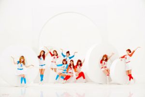 SNSD HD Wallpaper by ajikaji