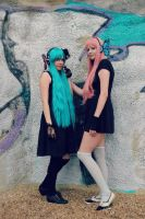 Vocaloid Magnet Cosplay [MikuXLuka] by Night-Sky-Dreamer