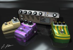 Concept amp and gadgets Collection 1b by skyturn