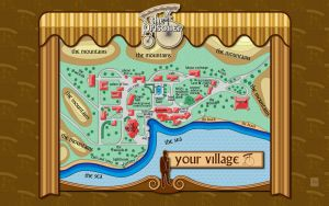 The Village Map by vectorgeek