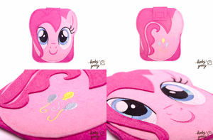 HoobyGroovy - Pinkie Pie Kindle Case by CasseminaPie