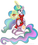 Ugly Sweater Party - Celestia by EverlastingDerp