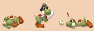 Yoshi by Advanced-Random