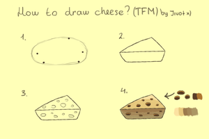 How to draw cheese (TFM) by Jivot1