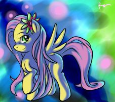 Fluttershy by 72-Hours-Remain