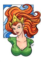 Mera DCnU Headshot3 by RichBernatovech