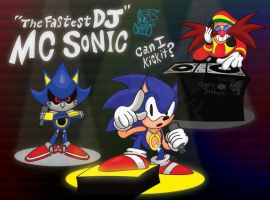 The Fastest DJ: MC Sonic by GagaMan