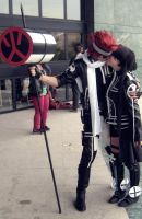 Lavi and Lenalee, love by LeydaCosplay