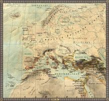 Europe in 200 B.C. by JaySimons