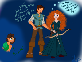The names Rider, Flynn Rider by Maygirl96