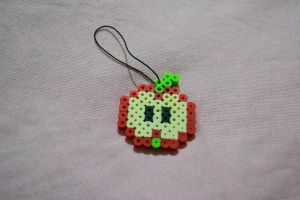 apple perler beads by kiri-chan1990