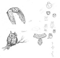 Owly owly owls by Hluthvik