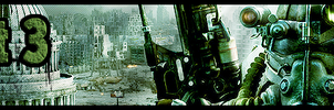 Fallout 3 banner by Melomonster
