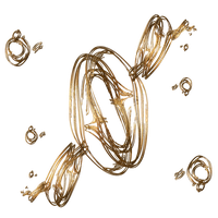Gold Loops PNG by Lion6255 on Deviant Art by Lion6255