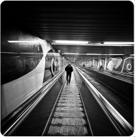 Death on an Escalator by ConcreteWindow