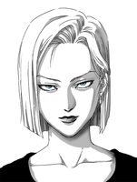 Android 18 by frieza-love