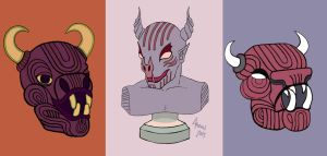 Collection O' Heads by Inprismed