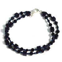 Deep Blue Anklet by Glamour365