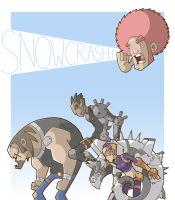 Snow Crash and the Technicolor Apocalypse by bluefluke