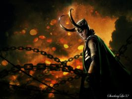 Loki- Destruction by Strawberryluv42