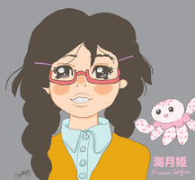 Kuragehime Princess Jellyfish by forestbunny