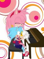 Amy and Ava Piano by Mellissafox9