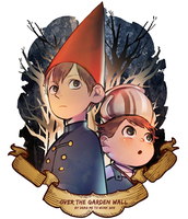 Over the Garden Wall by kanapy-art