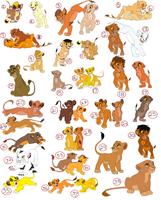 LION CUB ADOPTABLES 2. CLOSED. by KoyukitoriGirl