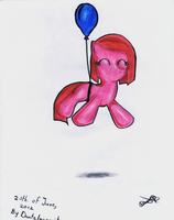 MLP:FiM - Ores-sensus - Filly Pinkie by DanteIncognito