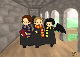SPN - At Hogwarts by Rory221B