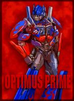 Movie Optimus Prime 3 by J-666