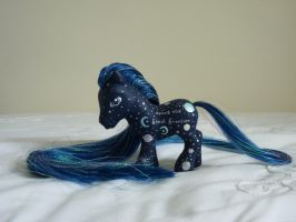 custom my little pony space the final 4 by thebluemaiden