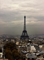 Paris in November.... by Tigles1Artistry