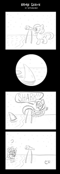 Shore Leave by LittleLooney
