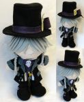 Mini Plushie Mad Hatter Undertaker by ThePlushieLady