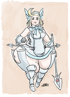 Valkyrie Edea by Idle-Minded