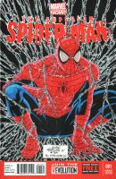 Spiderman No. 1 Cover Tribute by wardogs101