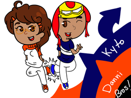 Kyto And Danni Bros!!! by ask-kytothehero
