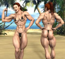 Muscular redhead from MarinaIbiza by mud666