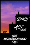 Comet: act one. The neighbourhood cats by BLACK-Tango