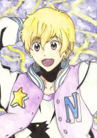 FREE! Hazuki Nagisa / watercolour / by deicus4ever