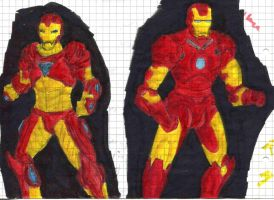 Iron Man pre and post movie watching by Doofus-the-Cool