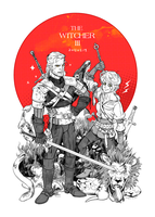 The Witcher 3 Today!!! by freestarisis